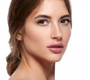 Facial brown skin discoloration