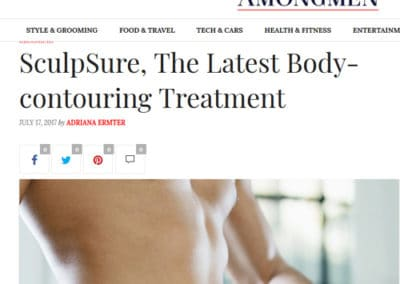 SculpSure at Q reported by Among Men